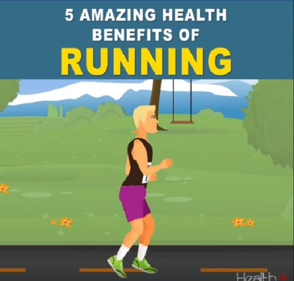 5 amazing health benefits of running
