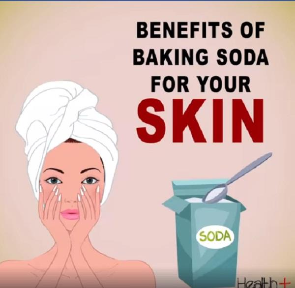 benefits of baking soda for your skin