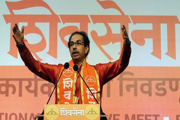 shiv sena gives support government about nrc issue