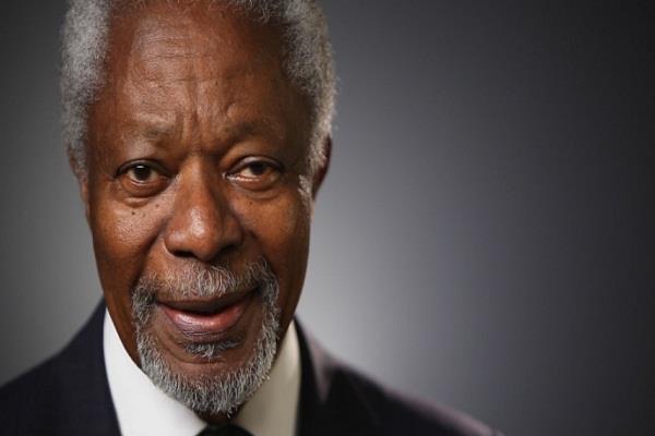 united nations kofi annan ghana died