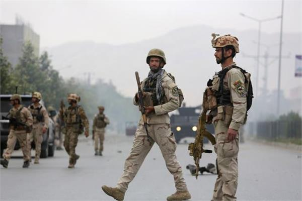 afghanistan taliban occupy military camp death of 14 soldiers