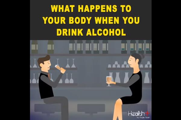 what happens to your body when you drink alcohol