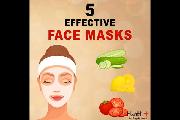 5 effective face masks