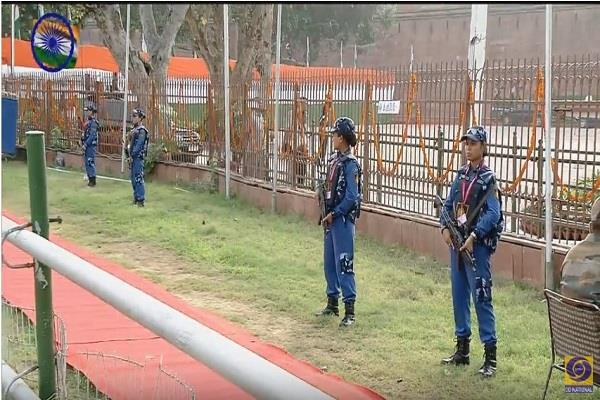 swat team protected red fort
