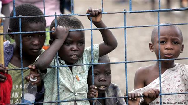 africa 50 million children died in armed conflict in 20 years