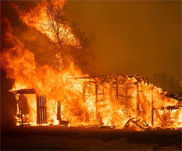 america deadly wildfires blaze across california