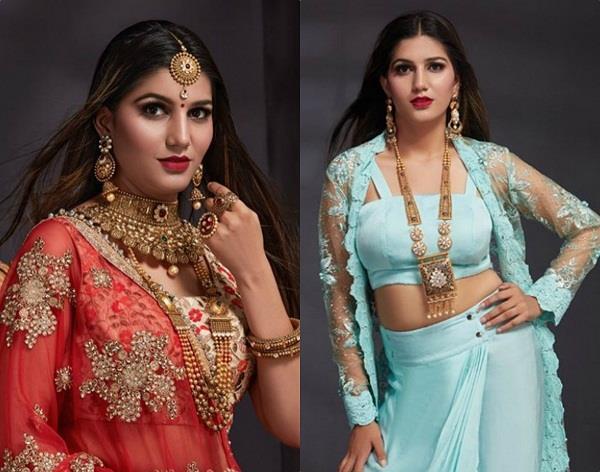 sapna chaudhary became more glamorous