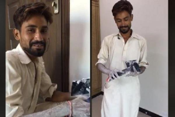 story pakistani painter muhammad arif goes viral on internet