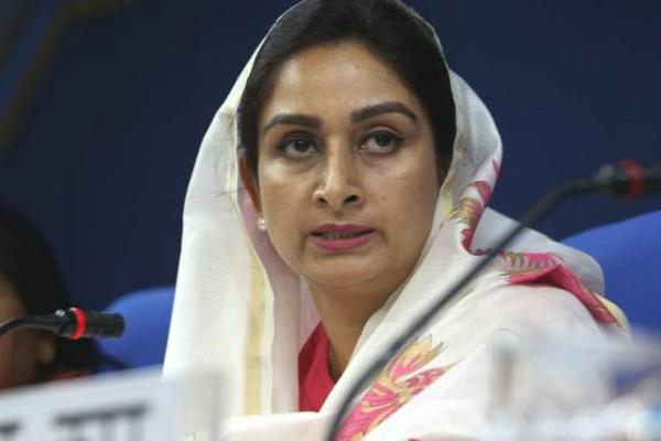 foods will be distributed in flood affected kerala says harsimrat kaur badal
