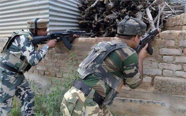 militant attack on army at shopian