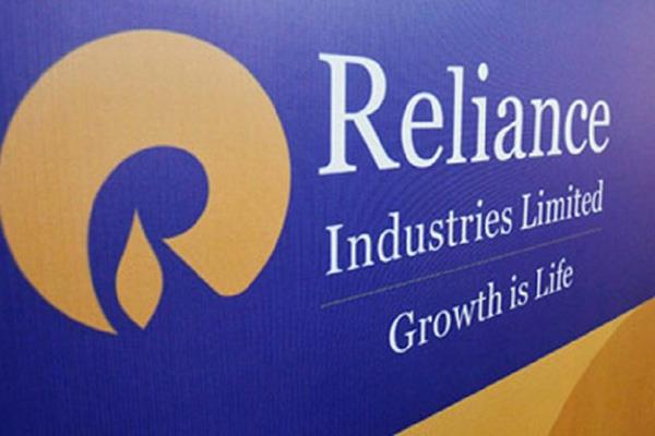 ril shares first for rs 1300