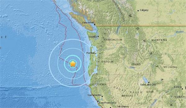 us 6 2 magnitude earthquake on oregon coast