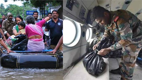 kerala flood indian army sridhar warrior joc