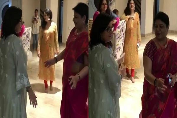 प्रियंका की विदेशी सास ने मां मधु के साथ पंजाबी गाने पर लगाए जबरदस्त ठुमके, देखें वीडियो