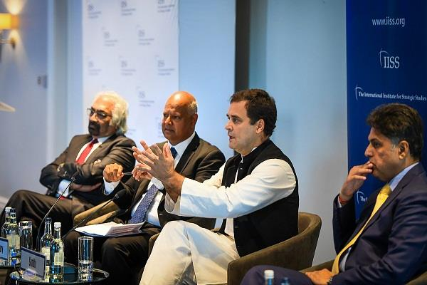 rahul gandhi s statement in foreign tour reflects his incompetence bjp