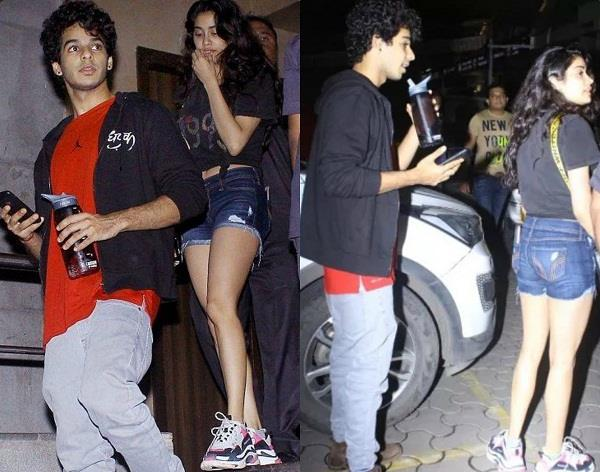 janhvi kapoor and ishaan khatter latest pictures