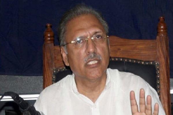 pak nominated dr arif alvi as president for presidential nominee