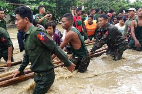 over 63k displaced in myanmar dam breach