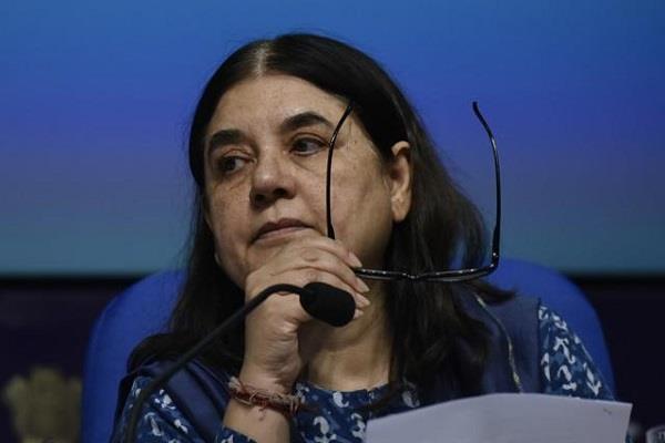 menka says prepare rehabilitation plan for children