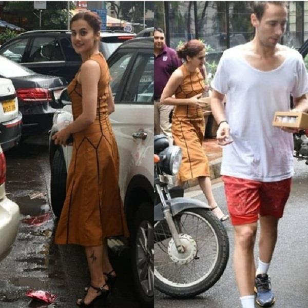 taapsee pannu boyfriend mathias boe at lunch date