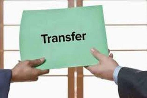 punjab government transferred 33 officers