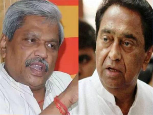 parbhat jha against kamalnath
