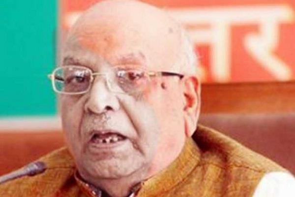 lalji tandon becomes new governor of bihar