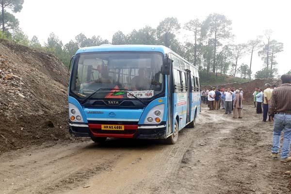 pathankot mandi nh restored after 23 days