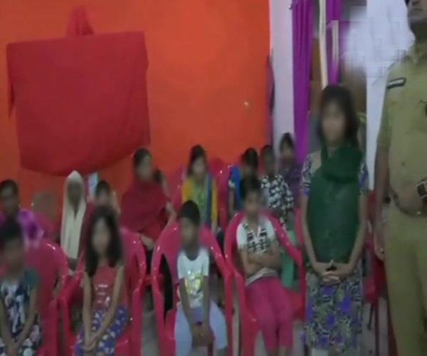lucknow mayawati deoria shelter house bjp jangaraj