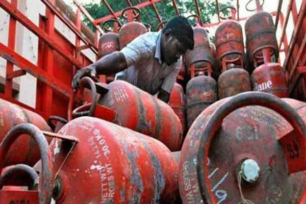 gas cylinder costlier for the third consecutive month
