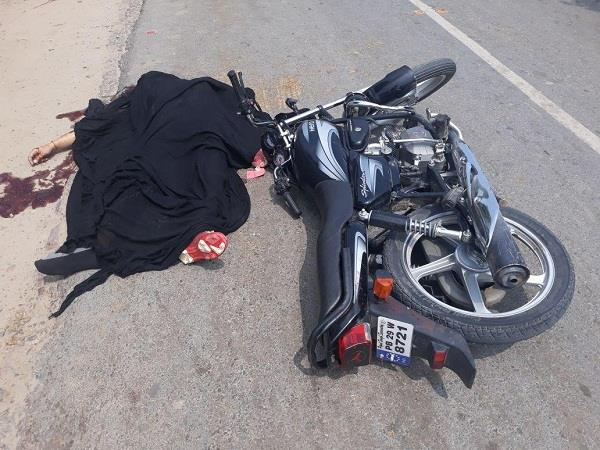 centor collided with a motorcycle rider dead on the spot