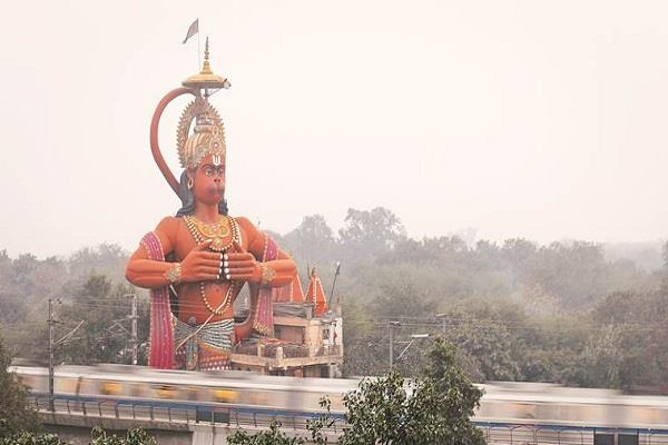 high court strict on the hanuman statue case