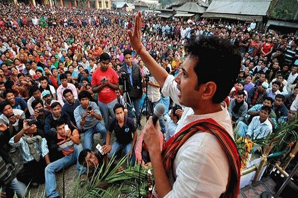 congress leader demands nrc in tripura