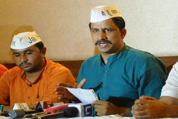 aap haryana gives financial aid of rs 1 lakh to flood victims of kerala