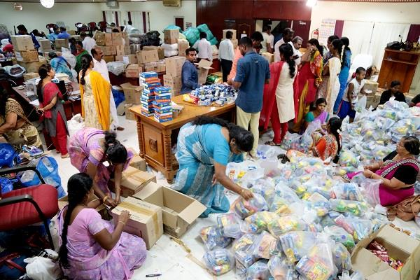 hm is doing every possible assistance in the flood relief efforts in kerala