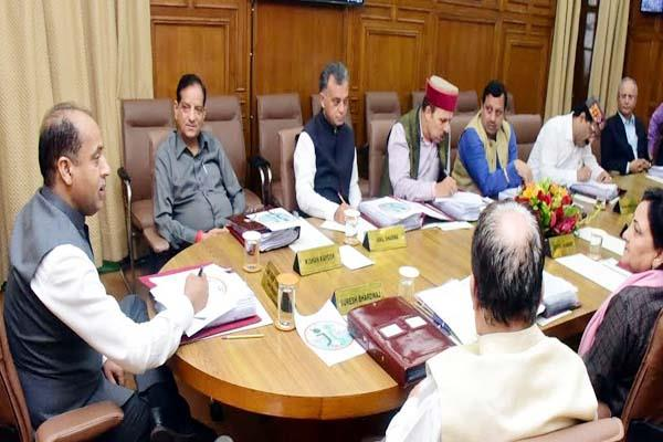 cabinet meeting government kind on farmers open box of jobs