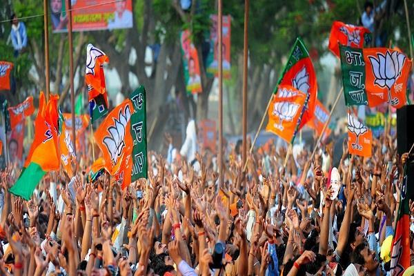 bjp win in sangli miraj kupwara and jalgaon municipal elections