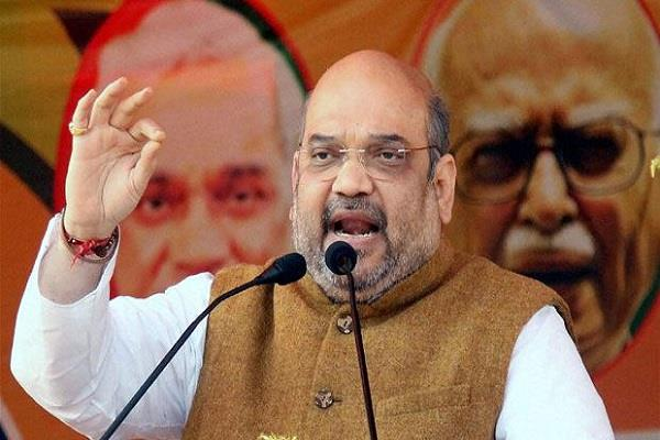 before the amit shah rally the bmc tmc face to face