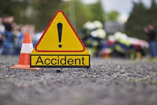 2 motorcycle collision in phagwara 5 pilgrims injured