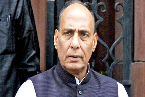 rajnath arrives in aiims to get information about vajpayee s health