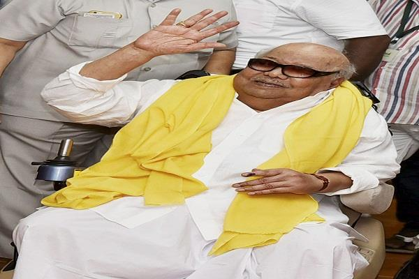 dmk chief karunanidhi dies wave of mourning in politics