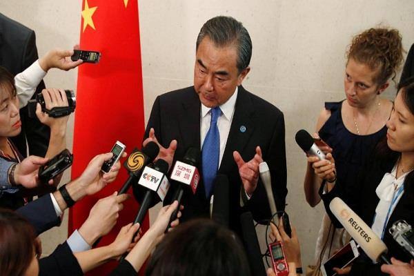 china calls for peace in korean peninsula