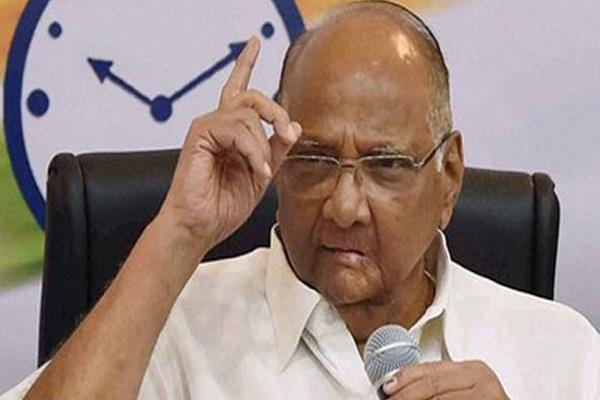 opposition party winning most seats will claim for pm sharad pawar
