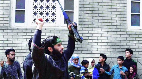 lashkar new video viral in kashmir