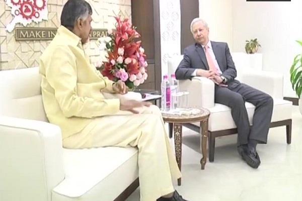 us ambassador meets andhra pradesh chief minister