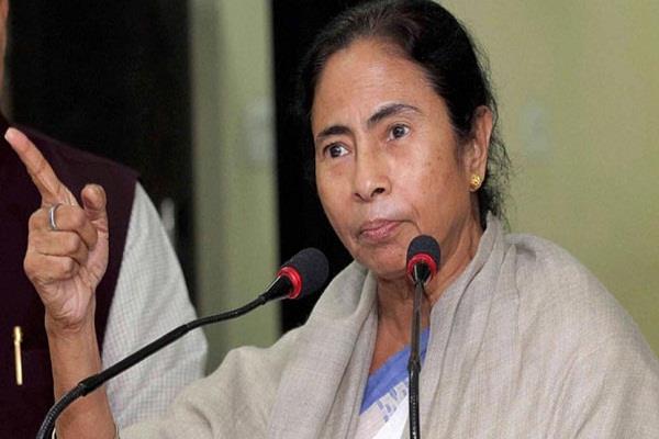mamata blames bjp on  democracy
