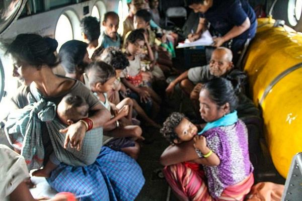 more than 200 people were rescued in arunachal and assam