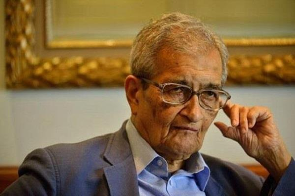 the intellectuals like amartya sen always misled the society bjp