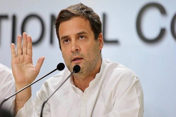 only place for rss in the country rahul