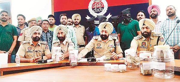 patiala police solve the case of robbery in the doctor s house
